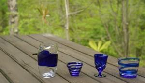 瑠璃ガラス