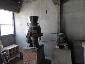 山謙酒造の機械