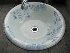 梅乃瀬窯手洗い鉢