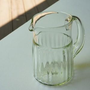 くるみガラス ジャグ(ガラス工房 橙)