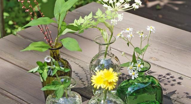 橙さんの野の花小瓶とジャグが再入荷