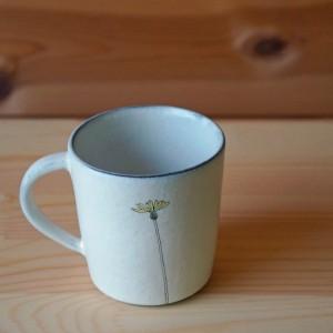マグカップ タンポポ柄(清水なつ子)