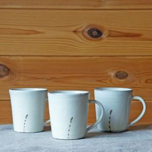 土筆柄マグカップ(清水なつ子)