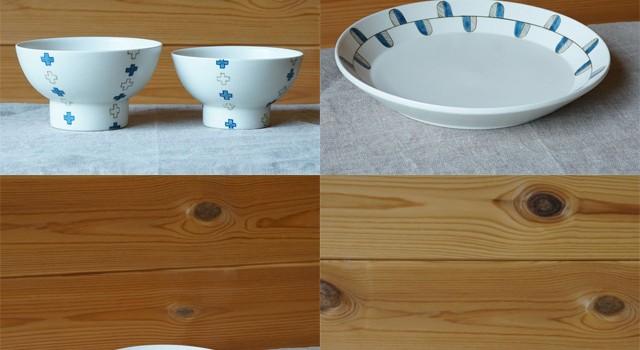 すこし屋 松田窯さんからご飯茶碗とお皿が新入荷