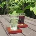 くるみガラスのタンブラー(ガラス工房 橙)