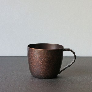 銅のマグカップ(ブリキや彰三)