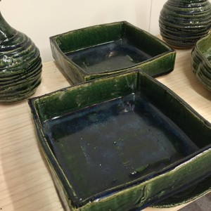 青織部角鉢(工藤真人)