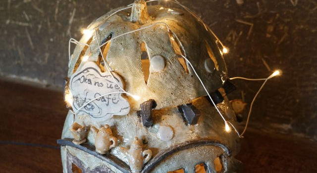 陶器でできたメルヘンの世界