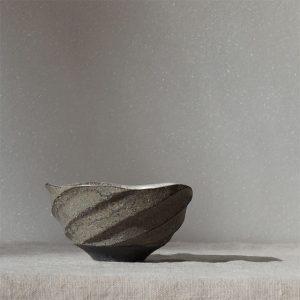 沖誠さん銀彩の杯