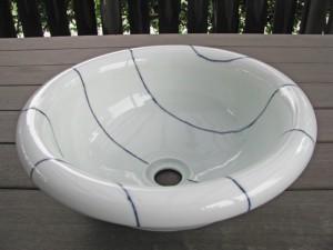 梅乃瀬窯の手洗い鉢