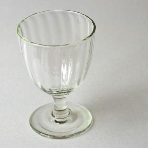 くるみガラスのシードルグラス