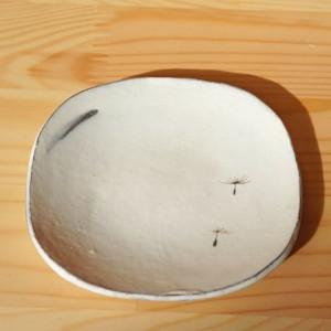 豆皿 タンポポ綿毛柄(清水なつ子)