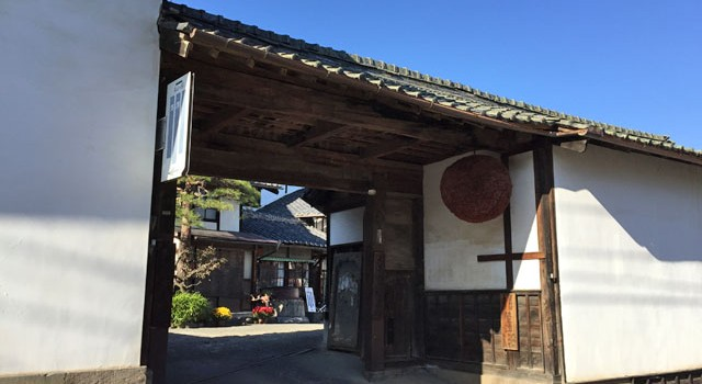 明鏡止水の大澤酒造さん(佐久市茂田井)