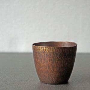 銅のお猪口(ブリキや彰三)