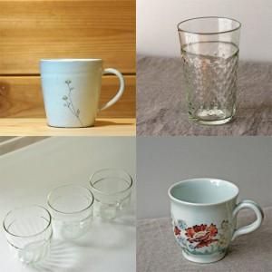 whitedayにマグカップやグラスを
