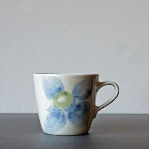 柿柄 マグカップ(梅乃瀬窯)