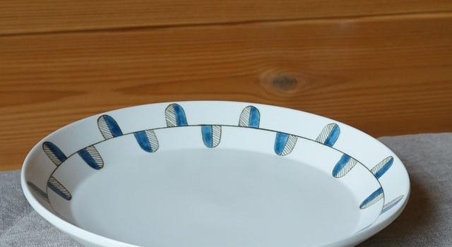 北欧のデザインを感じるお皿