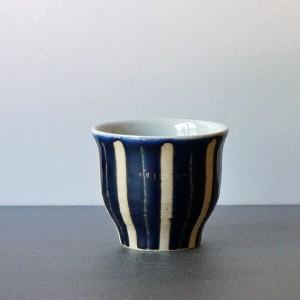 フリーカップ 瑠璃釉(陶房 風遊舎)