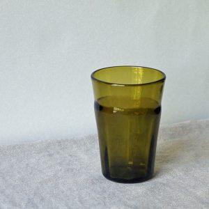再生ガラス タンブラー S 太モール(橙)