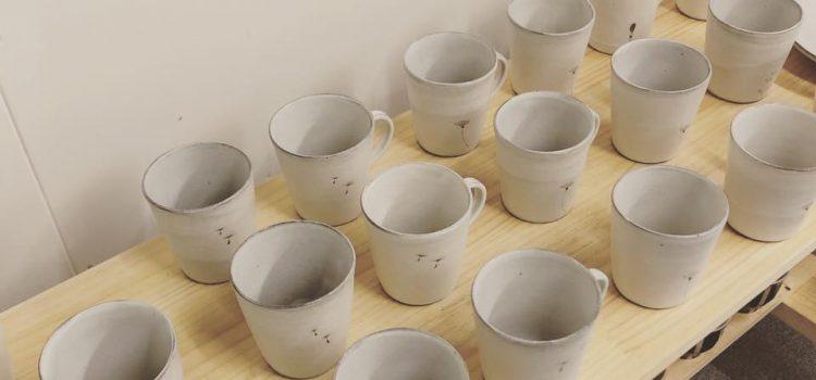 清水なつ子さんのマグカップとフリーカップ再入荷